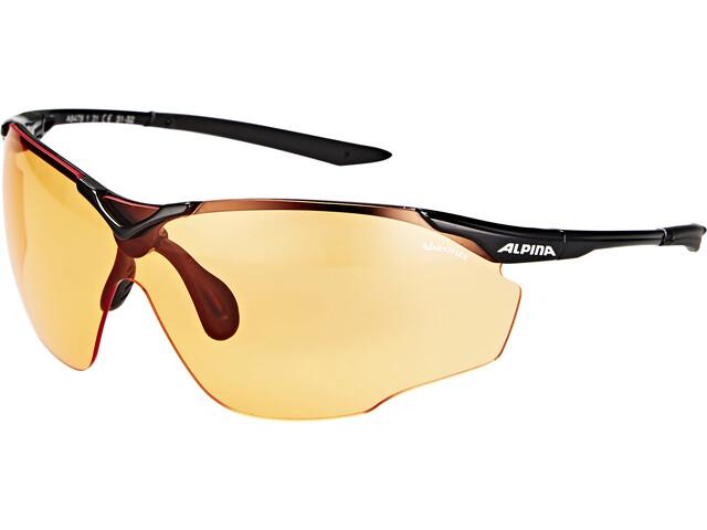 Alpina Splinter Shield VL Brille, black